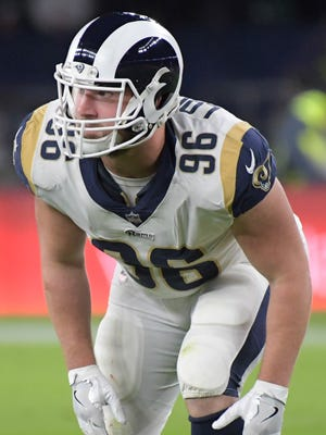 Matt Longacre was an undrafted free agent who was coming into his own as a pass-rush specialist in 2017.