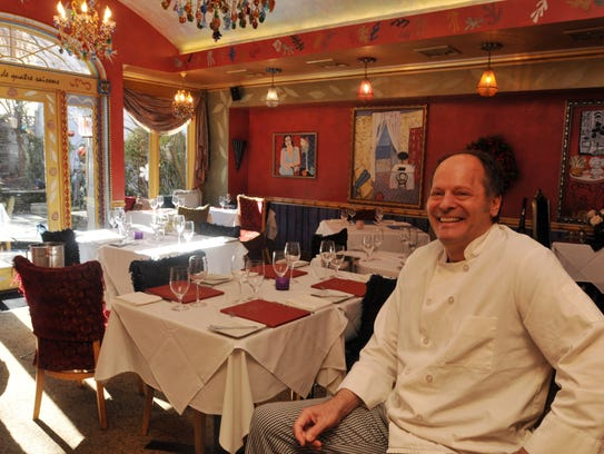 Chef-owner Peter Loria at his restaurant, Café Matiss