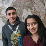Geography quiz? Middle school student built a study app for that