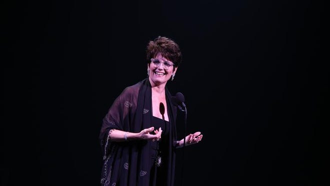 """Lucie Arnaz is the evening's second presenter in """"Carol Channing's 95th Birthday! In Celebration of A Broadway Legend"""" Saturday at the McCallum Theatre."""