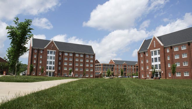Austin Peay houses approximately 2,000 students on campus.