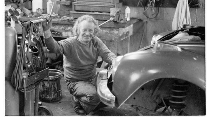 """The History Center in Tompkins County will host """"You Could Trust Your Karl,"""" a presentation on Saturday about mechanic Karl Jaentsch."""