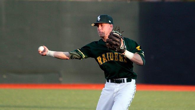Matt Morrow, a 2014 graduate of Richmond High School, played college baseball at Wright State.