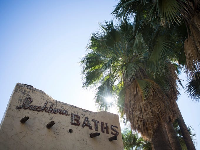 "Buckhorn Baths, once known for being home to ""Arizona's"