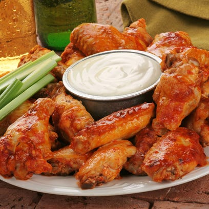 The Brickwall in Asbury Park is known for its drinks and it als otouted for the wings.