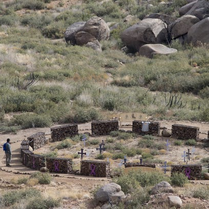 Along Yarnell Hill's scrubby trails and rough ridges, a park to honor the Granite Mountain Hotshots