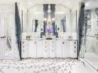 Unique master bathrooms open up a world of design possibilities
