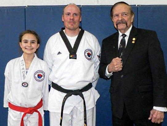 From left to right: Cabrini Brandl, Dan Murray Jr.