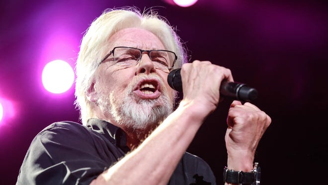 Bob Seger performed at Bankers Life Fieldhouse on March 30. He had to postpone the original March 22 date after injuring his shoulder, possibly while taking the old records off the shelf.
