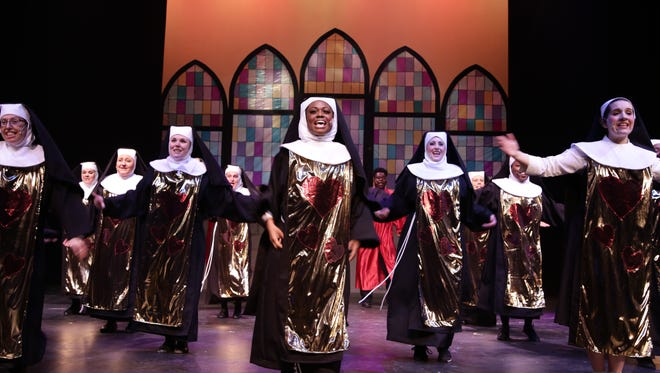 "Some of the best moments in ""Sister Act"" come courtesy of the marvelous ensemble of nuns."
