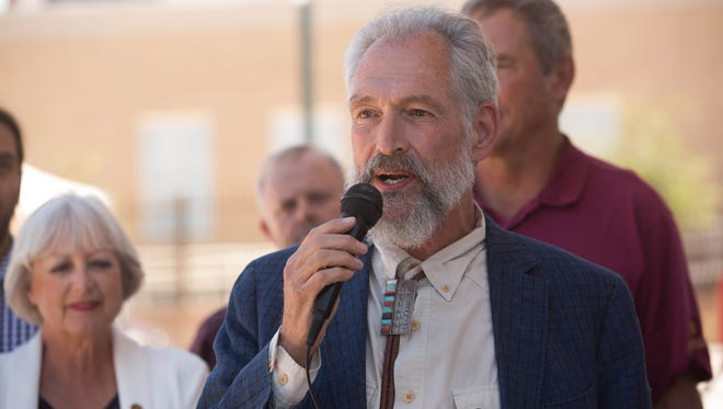 Richard Ellenberg resigned as the chairman of the Democratic Party of New Mexico on Tuesday, March 13, 2018.