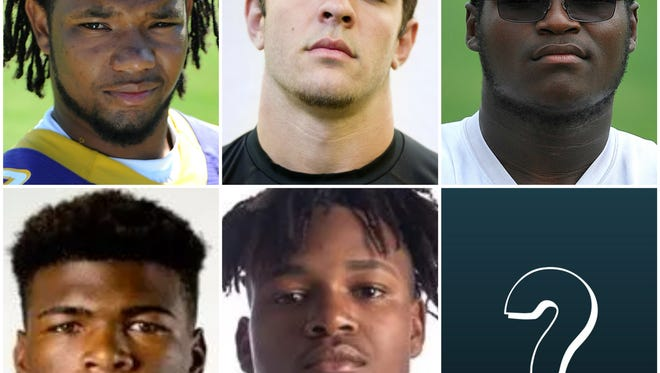 The Super 11 made its debut in 2013. Previous No. 1's include Fort Pierce Central defensive end Rashawn Shaw (2014, Wake Forest), Jensen Beach linebacker Nico Sawtelle (2015, South Florida), Central offensive lineman Stewart Reese (2016, Mississippi State), Sebastian River LB Jarez Parks (2017, Alabama) and Jensen Beach DB Jamien Sherwood (2018, Auburn.) Who will be the next No. 1 on the Super 11?