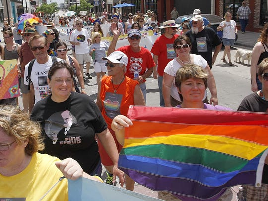 The Greater Ozarks PrideFest will fabulously fill downtown on Saturday.