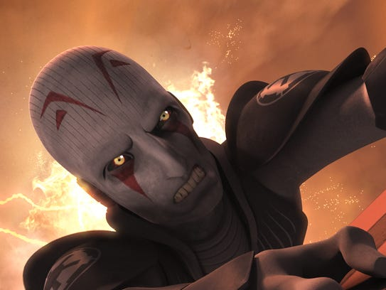 The Inquisitor (voiced by Jason Isaacs) seemed doomed