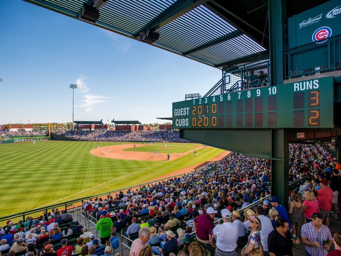 Best Spring Training Facilities In Arizona And Florida