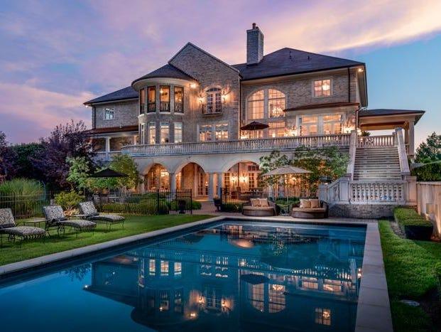 Tim Couch Lists Custom Built Lexington Mansion Usa Today