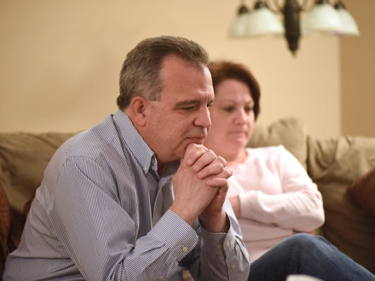 Jim and Stacey Rilee of Roxbury discuss their heartbreak