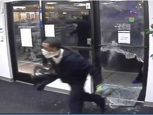 Pharmacy burglary suspect
