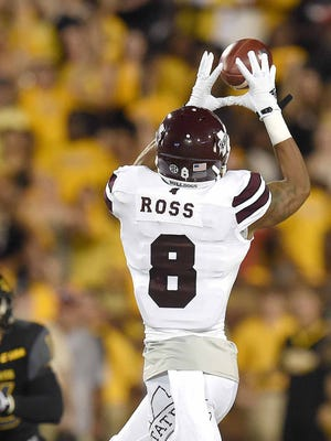 Mississippi State's Fred Ross revealed Monday that he played through an injury all of last year.
