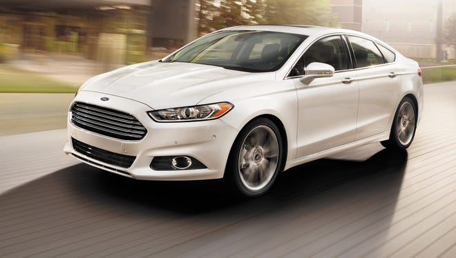 Ford had record sales of the fusion this year in the fiercely competitive midsize family sedan segment.