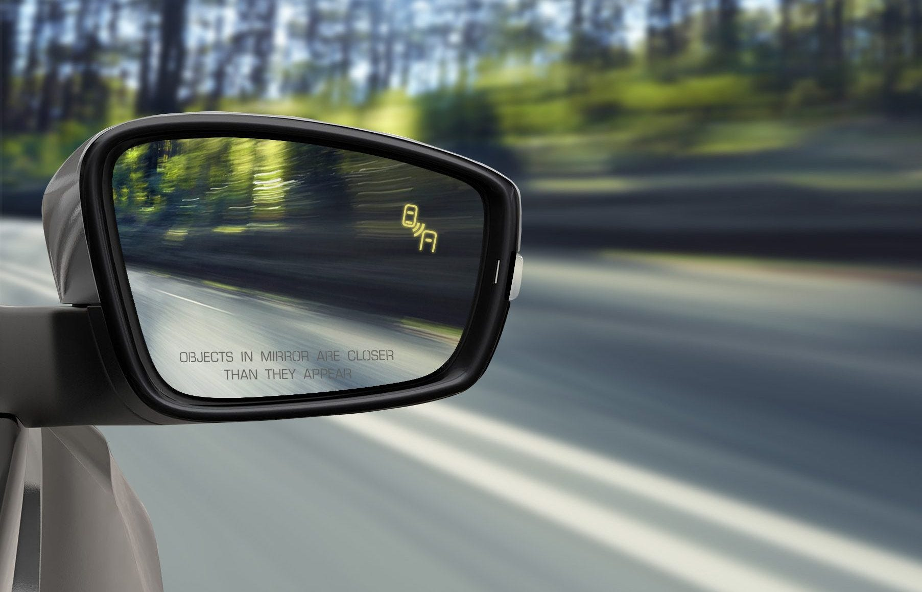 Toyota Camry: Conditions under which the Blind Spot Monitor will not detect a vehicle
