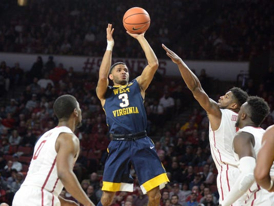 NCAA Basketball: West Virginia at Oklahoma
