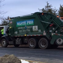 Waste Pro cites severe weather in trash pick-up delays in Buncombe County.
