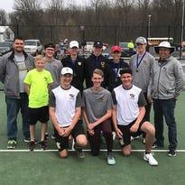 Watkins Memorial tennis wins doubles tournament
