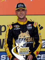 Josh Wise won the fan vote for the 2014 Sprint All-Star Race.