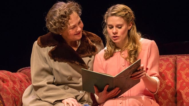 Cherry Jones, left, and Celia Keenan-Bolger in Broadway's revival of 'The Glass Menagerie,' by Tennessee Williams.