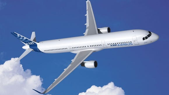 Frontier Airlines orders 9 Airbus A321 jets