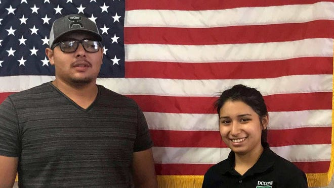 Angel Sanchez and Mariah Moreno are among 20 students of Deming Cesar Chavez Charter High School who will receive diplomas at Thursday's graduation ceremony at the Mimbres Valley Special Events Center.