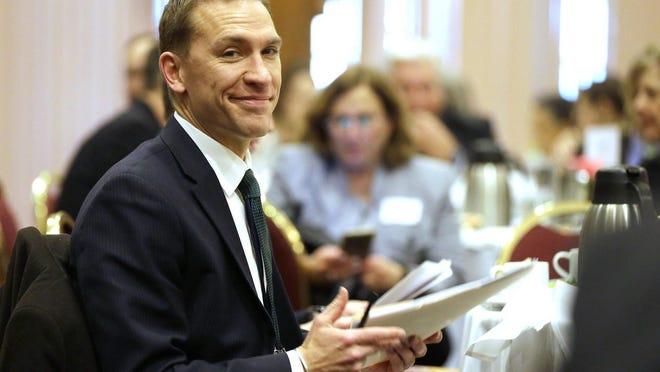 State Sen. Chris Larson announced a second bid for Milwaukee County executive.