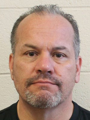 Wicomico County Sheriff's Sgt. Mark Fisher, also a theft suspect