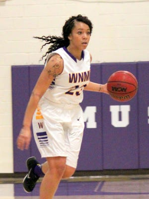 Western's Desiree Smith had a team high 19 points Friday night against Mines. She buried one trey and was 2-of-3 from the free-throw line.