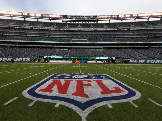USP NFL: LOS ANGELES CHARGERS AT NEW YORK JETS S FBN NYJ LAC USA NJ