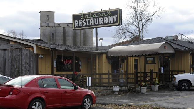 Dotson's Restaurant on Main Street in Franklin is scheduled to close its doors in December 2014.