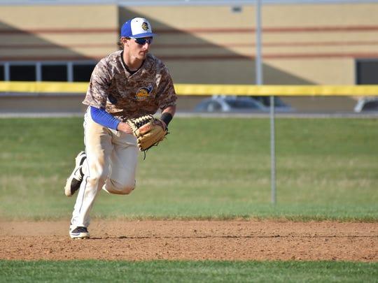 Waynesboro's Jarrett Biesecker was named to  Mid Penn Colonial Division first-team all-star.