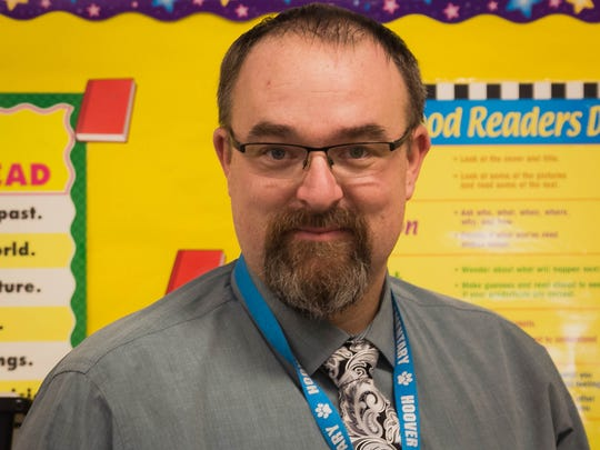 Patrick Doody, Teacher, Hoover Elementary School