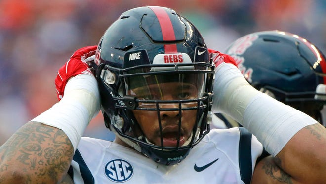 Ole Miss defensive tackle Robert Nkemdiche was one of 12 semifinalists for the Lombardi Award.