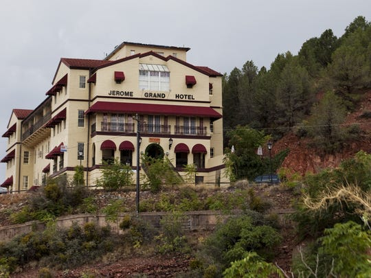 The Asylum, a longtime favorite restaurant for tourists, is located in the Jerome Grand Hotel, which was built in 1926 as a hospital.
