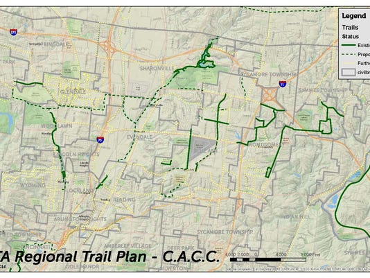 CACC Regional Trail Plan Map