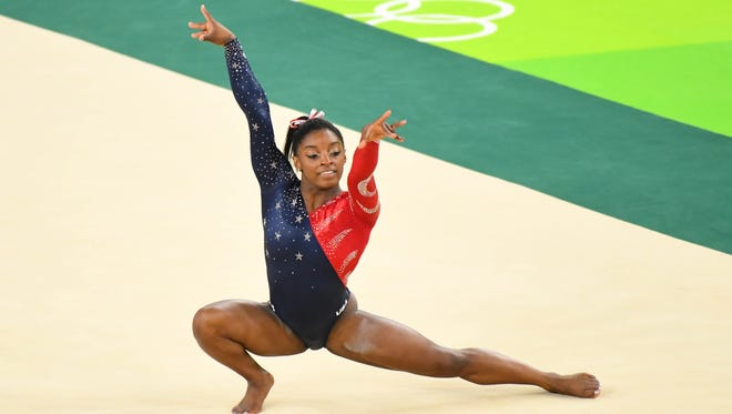 Simone Biles and the U.S. women's gymnastics team goes for team gold on Tuesday at the Rio Olympics.