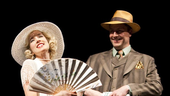 Monette Magrath and William Peden in the Arizona Theatre