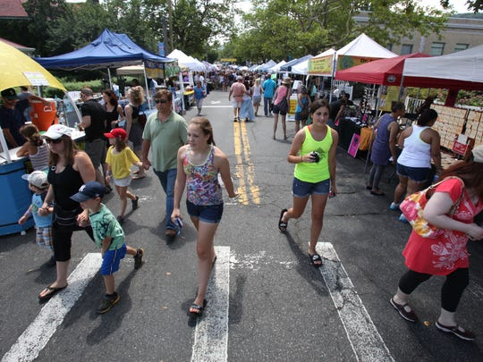 The Nyack Famous Street Fair is a sure sign that spring