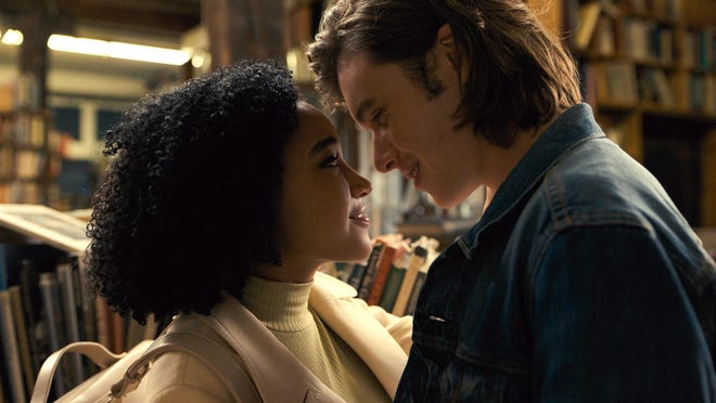 "Amandla Stenberg and Nick Robinson in ""Everything, Everything."""