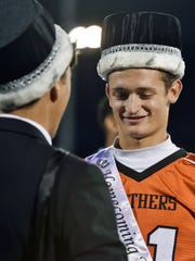 Central York's Calvin Luckenbaugh is crowned homecoming