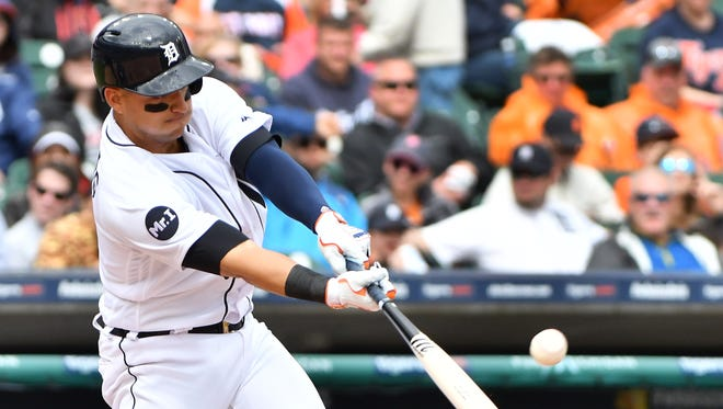 Tigers' Jose Iglesias has been trying to get back into a groove at the plate.