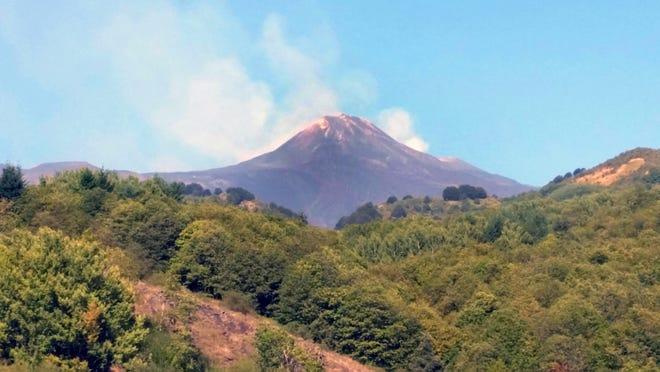 Mt. Etna in Sicily, Italy.