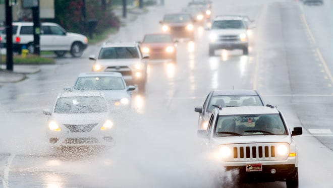 After dousing the Carolinas, the retirements of Tropical Depression Florence was moving over East Tennessee on Sunday.